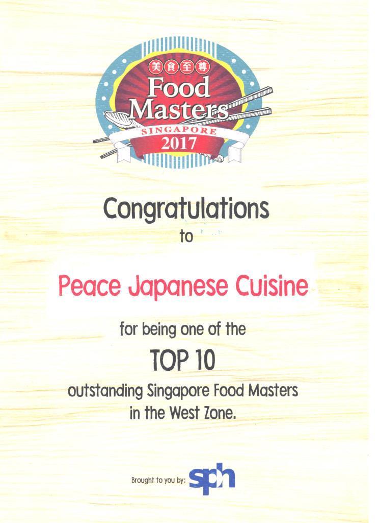Top 10 Food Master
